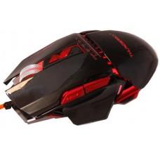 Мышь проводная Zornwee GX10 игровая с подсветкой черная