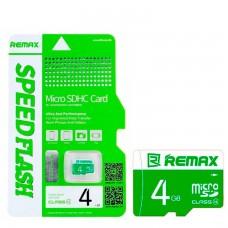 Карта памяти Remax MicroSD 4GB 10 class