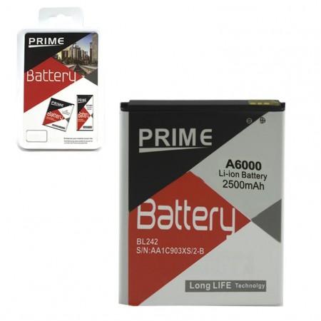 Аккумулятор Lenovo BL242 2500 mAh для K30-T, Lemon K3, A6000 AAAA/Original Prime