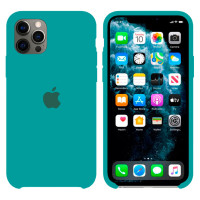 Чехол Silicone Case Original iPhone 12, 12 Pro №50 (Spearmint green) (N47)