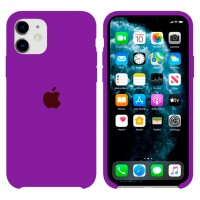 Чехол Silicone Case Original iPhone 12 Mini №45 (Purple) (N43)