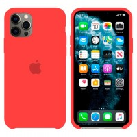Чехол Silicone Case Original iPhone 12, 12 Pro №14 (Red) (N14)