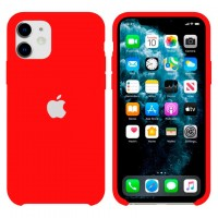 Чехол Silicone Case Original iPhone 12 Mini №33 (China red) (N31)