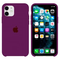 Чехол Silicone Case Original iPhone 12 Mini №52 (Violet) (N42)