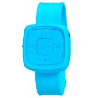 MP3 плеер с браслетом Синий