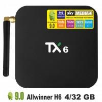 Android TV приставка SKY (TX6) 4/32 GB