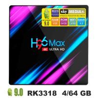 Android TV приставка SKY (H96 max) 4/64 GB