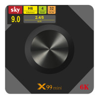 Android TV приставка SKY (X99 mini) 4/32 GB