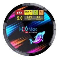 Android Smart TV приставка SKY (H96 MAX X3) 4/32 GB