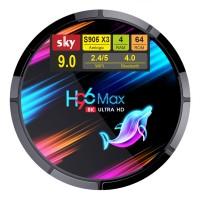 Android Smart TV приставка SKY (H96 MAX X3) 4/128 GB