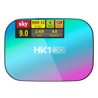 Android Smart TV приставка SKY (HK1 BOX) 4/128 GB