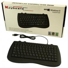 Клавиатура Mini 968 черная