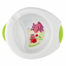 Термоустойчивая тарелка Chicco - Stay Warm (06826.00) 6 мес.+