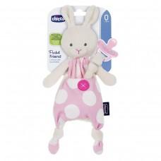 Чехол-игрушка для пустышки Chicco - Зайчик  (08012.10) розовый