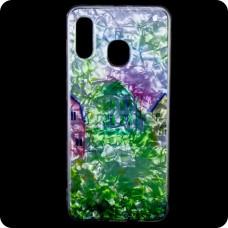 Cиликон Garden Samsung A40 2019 A405 домики