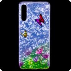 Cиликон Garden Samsung A70 2019 A705 бабочки