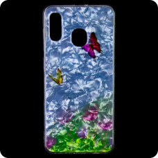 Cиликон Garden Samsung M20 2019 M205 бабочки