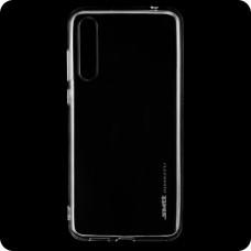 Накладка силиконовая SMTT Huawei Y8p, P Smart S прозрачный