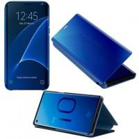 Чехол-книжка CLEAR VIEW Samsung J4 2018 J400 синий