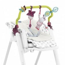 Дуга с игрушками и вкладыш для стульчика Chicco - Polly progress / Polly 2 Start (79590.00) Multicolor