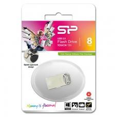 USB Флешка 8GB Silicon Power Touch T50 серебристая