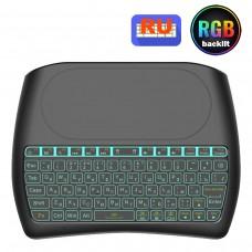 Пульт-клавиатура SKY (D8 pro plus-RU) подсветка / клавиатура / тачпад