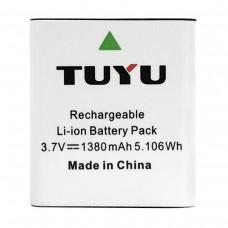 Батарея SJCAM / EKEN / Kruger&Matz (TUYU) 1380 mAh