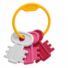 Грызун Chicco - Забавные ключи (63216.10) розовый
