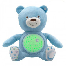 Игрушка музыкальная Chicco - Медвежонок (08015.20) голубой