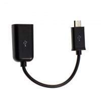 Переходник-адаптер USB-Micro USB OTG CA157 black 0.1m