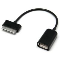 Переходник USB OTG - Galaxy Tab черный тех.пакет