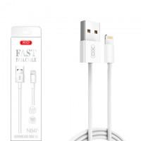 Кабель USB - Lightning XO NB47 1m белый