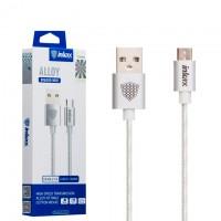 USB кабель inkax CK-64 Micro серебристый