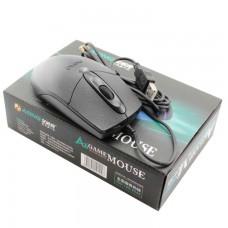 Мышь проводная AONQ A6 Game черная