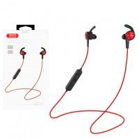 Bluetooth наушники с микрофоном XO BS3 красные