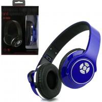 Bluetooth наушники с микрофоном HOPESTAR H-666 + колонка 2в1 синие