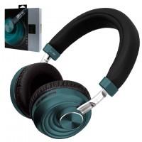 Bluetooth наушники с микрофоном VJ083 зеленые