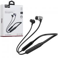 Bluetooth наушники с микрофоном inkax HP-14 черные