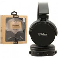 Bluetooth наушники с микрофоном inkax HP-06 черные