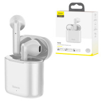 Bluetooth наушники с микрофоном Baseus Encok NGW09 TWS белые