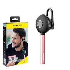 Bluetooth моно-гарнитура AWEI A825BL розовая