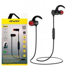 Bluetooth наушники с микрофоном AWEI AK4 черные