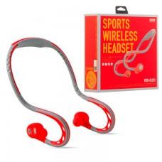 Bluetooth наушники с микрофоном Remax RB-S20 красные