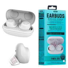 Bluetooth наушники с микрофоном Remax TWS-2s белые