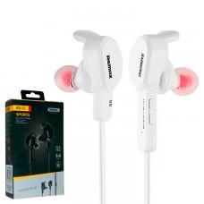 Bluetooth наушники с микрофоном Remax RB-S5 белые