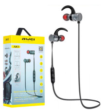 Bluetooth наушники с микрофоном AWEI AK1 черно-серые