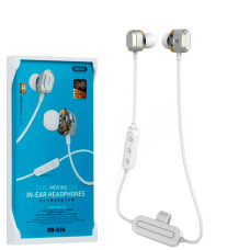 Bluetooth наушники с микрофоном Remax RB-S26 белые