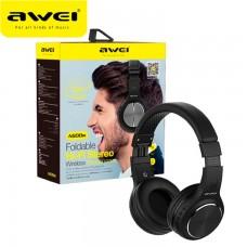 Bluetooth наушники с микрофоном AWEI A600BL черные