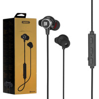 Bluetooth наушники с микрофоном Remax RB-S7 черные