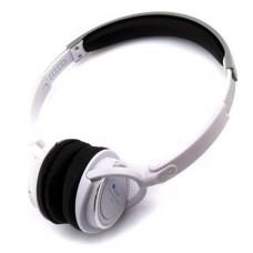 Bluetooth наушники с микрофоном AT-BT811 белые